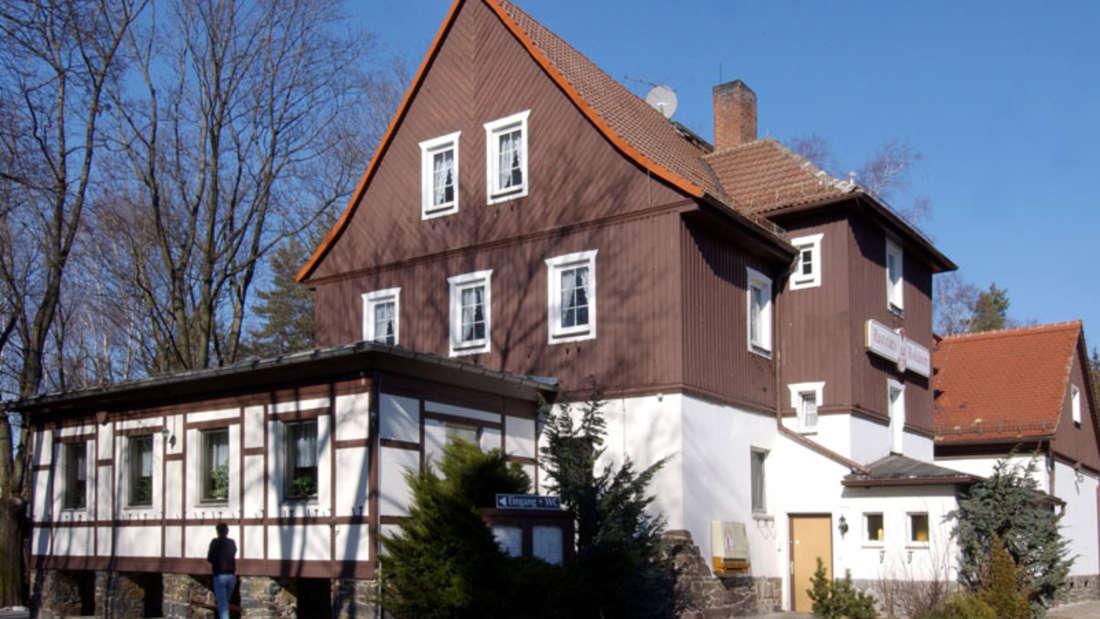 DieAutobahnraststätte in Rodaborn an der A9 soll Weltkulturerbe der Unescowerden.