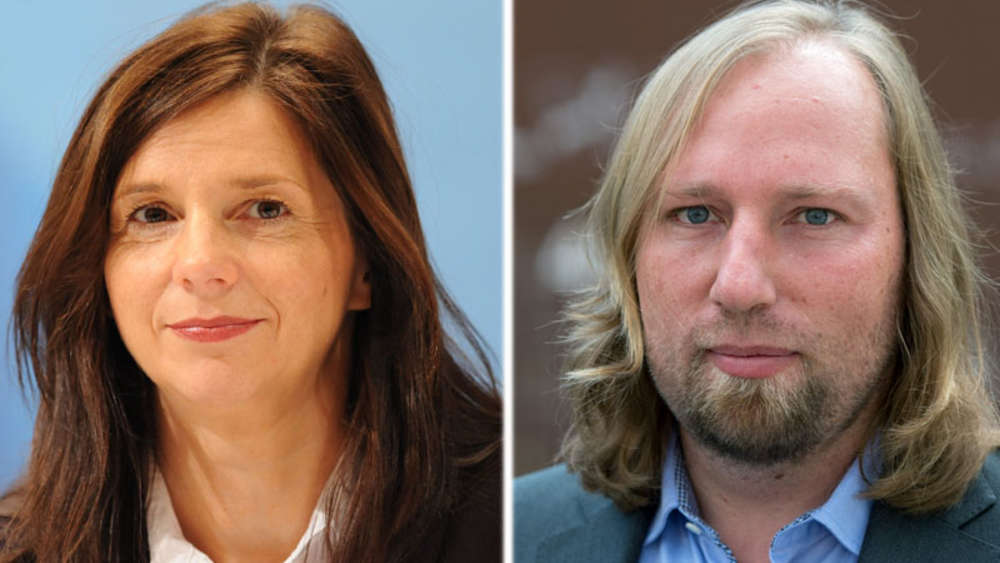 Goring Eckardt Und Toni Hofreiter Neue Grunen Fraktionschefs Politik