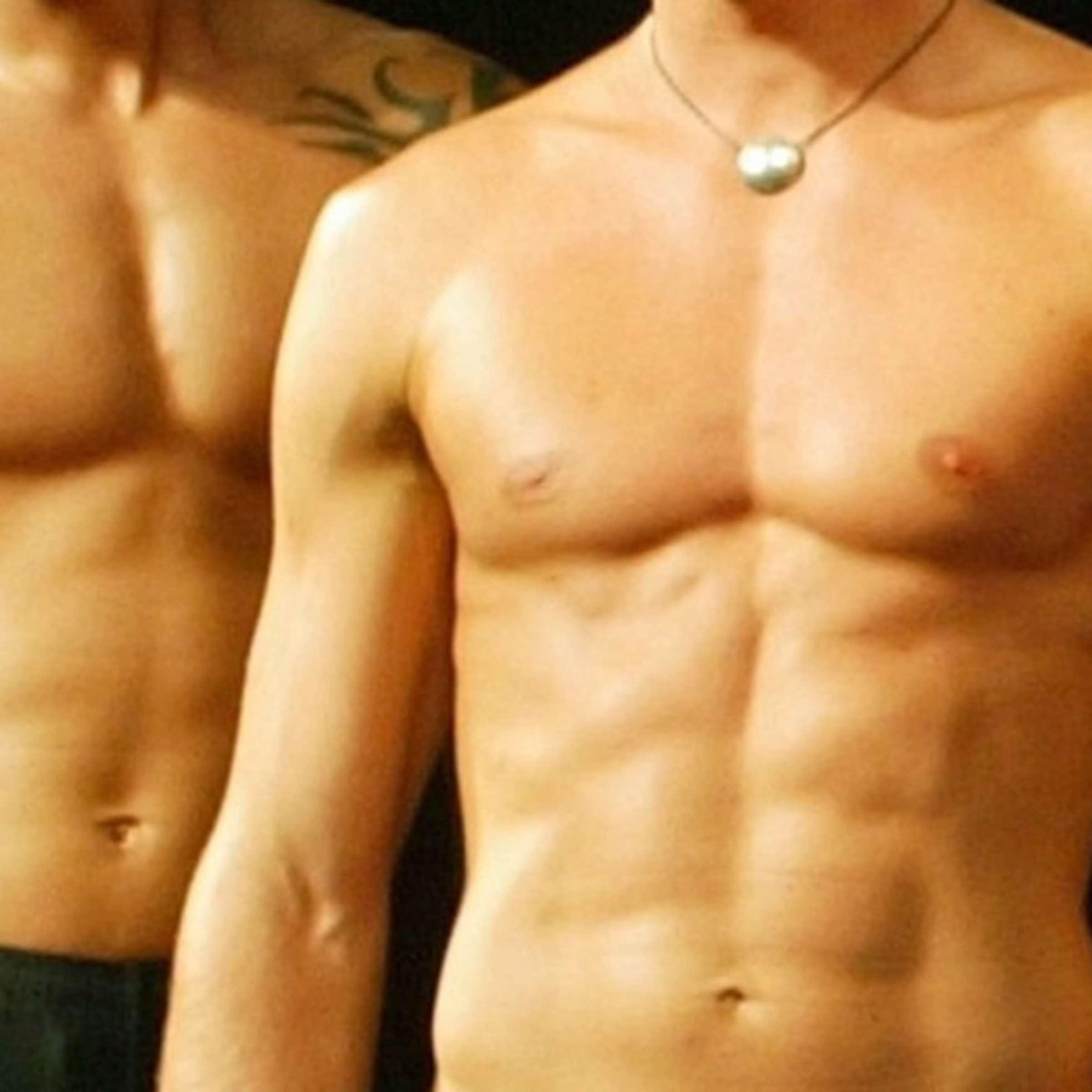 Oberkörperfrei dürfen rumlaufen männer Warum ist