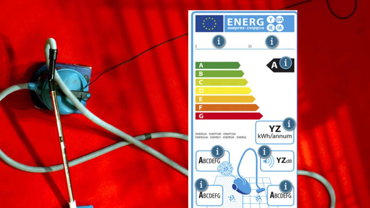 staubsauger ab 2014 nur noch mit 1600 watt dank eu energielabel wirtschaft. Black Bedroom Furniture Sets. Home Design Ideas