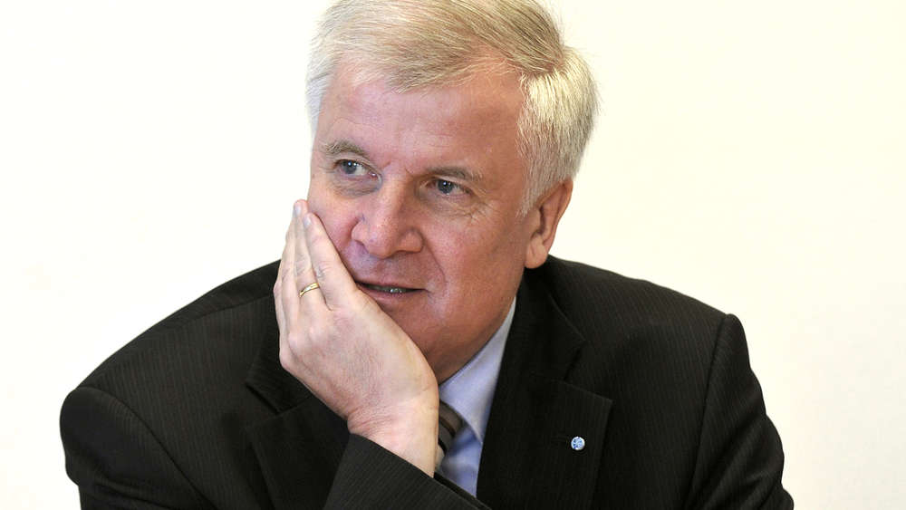 Ministerpräsident Seehofer