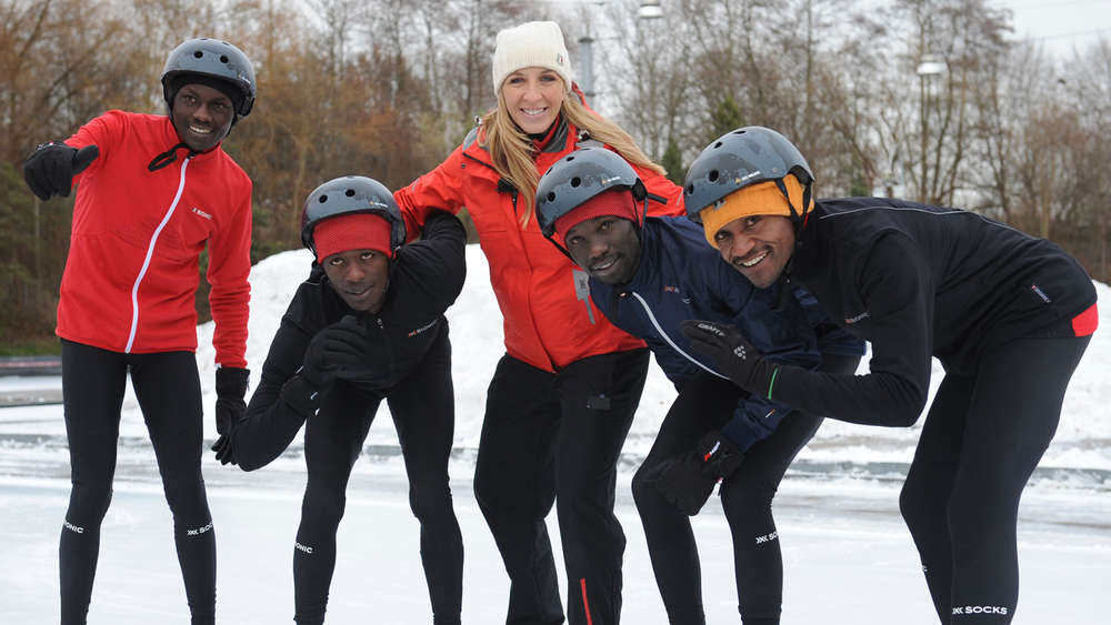 Anni Friesinger The Real Cool Runnings