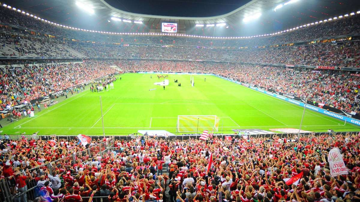 Allianz Arena Westtribüne