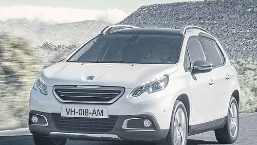 Peugeot 2008: Mini-SUV mit Top-Restwert