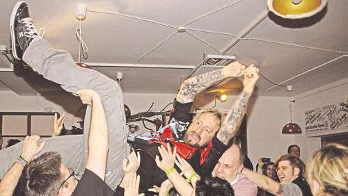 """KKK"": Wilde Rockparty mit Vom Ritchie"