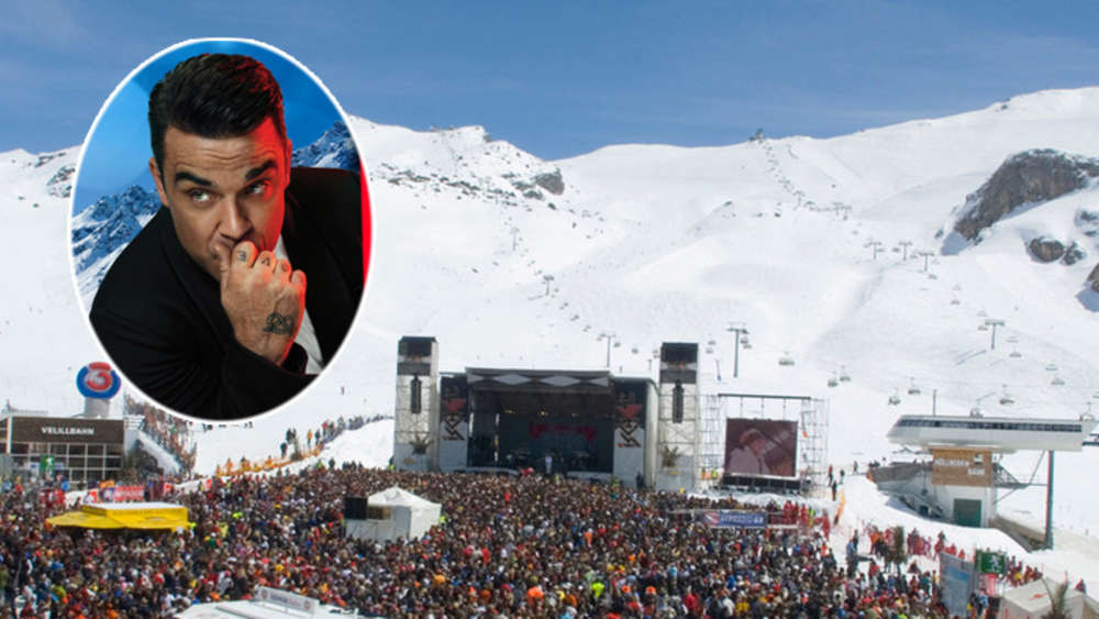 Robbie Williams Ischgl Top of the Mountain