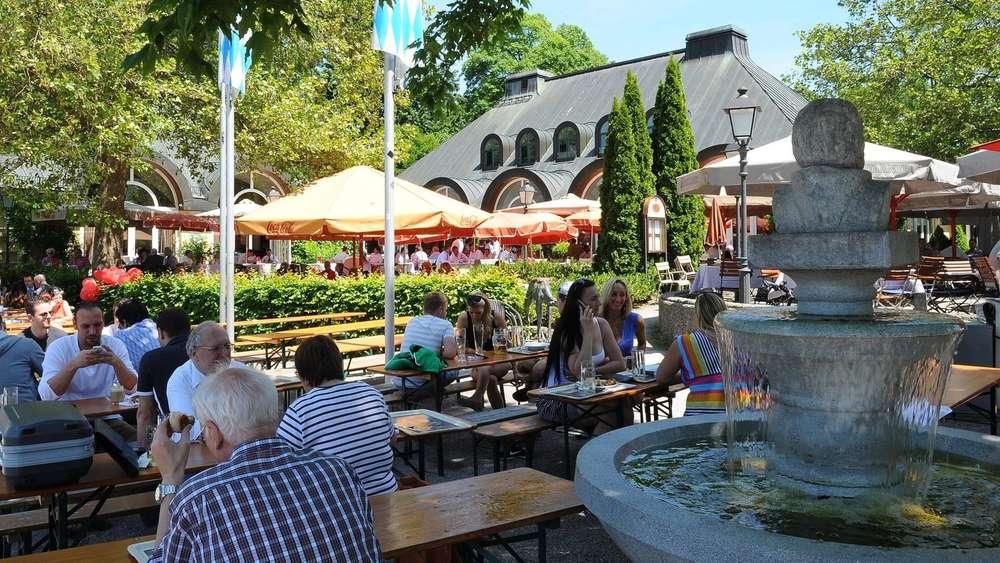 Biergarten In München Seehaus Preise Anfahrt öffnungszeiten