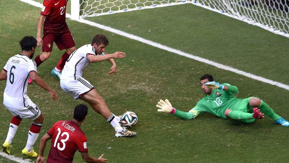 Wm 2014 Deutschland Portugal Spielbericht Gruppe G