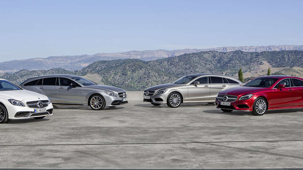 Mercedes CLS Coupé und Shooting Brake 2014