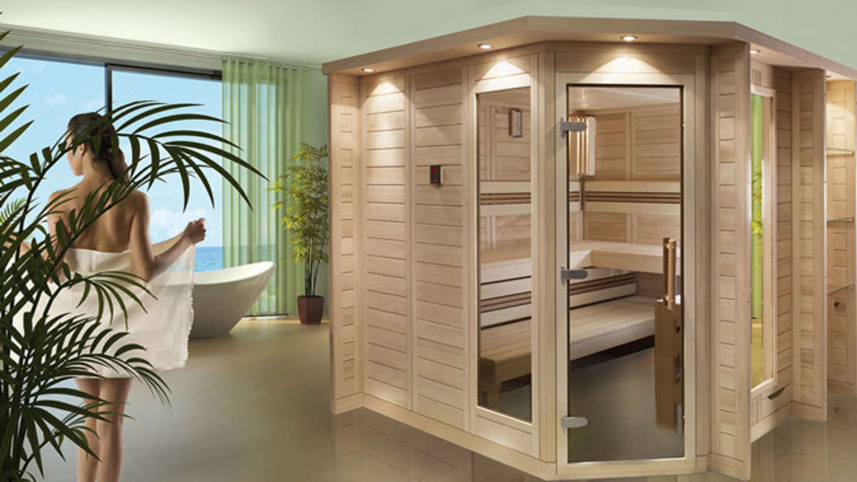 designsaunas viel zu sch n f r den keller wohnen. Black Bedroom Furniture Sets. Home Design Ideas