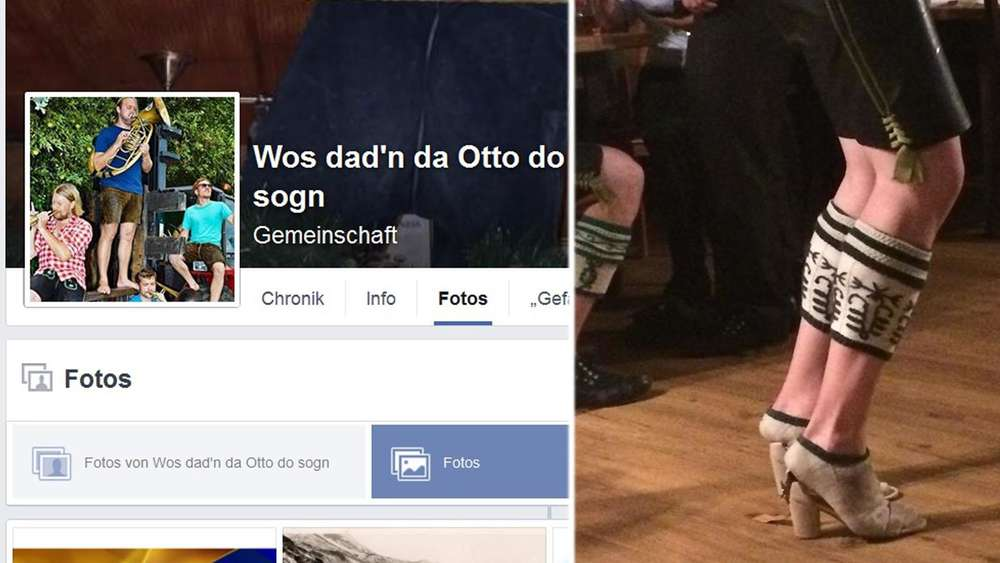 "Facebook-Gruppe: ""Wos dad&#39n da Otto do sogn"""