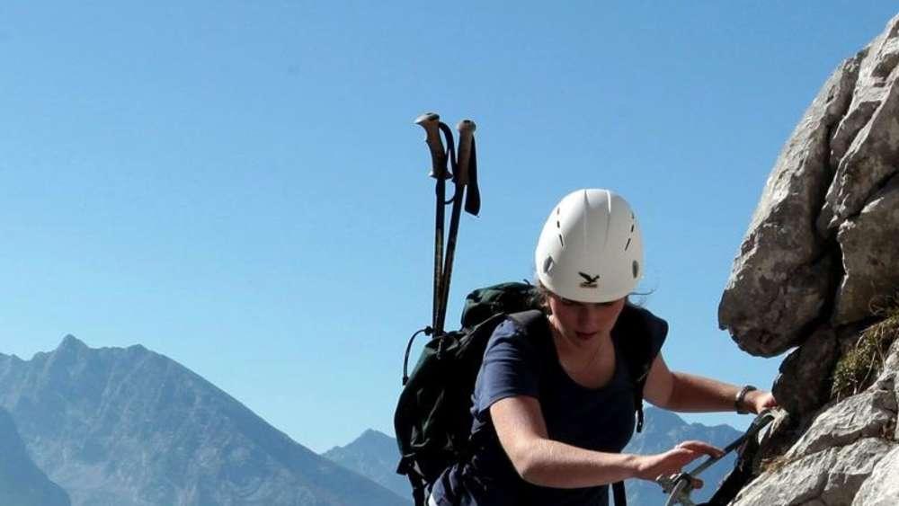 Klettersteig Karte : Karte kondition klassifizierung sicher kraxeln auf