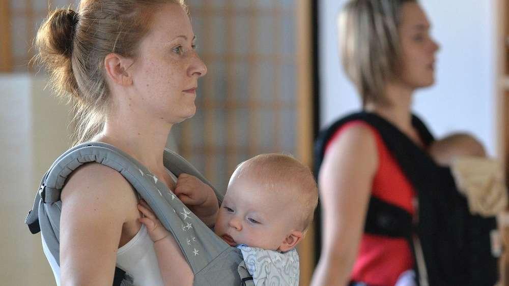 Trainieren Wie Die Känguru Muttis Beim Kanga Braucht Die Mama Nur