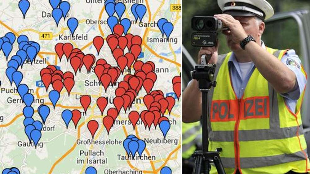 Blitzer Karte.Blitzmarathon In Bayern An Diesen Standorten Stellt Die