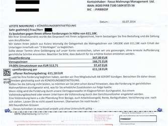 Polizei Warnt Vor Betrugsmasche Mit Falschen Mahnschreiben Bayern