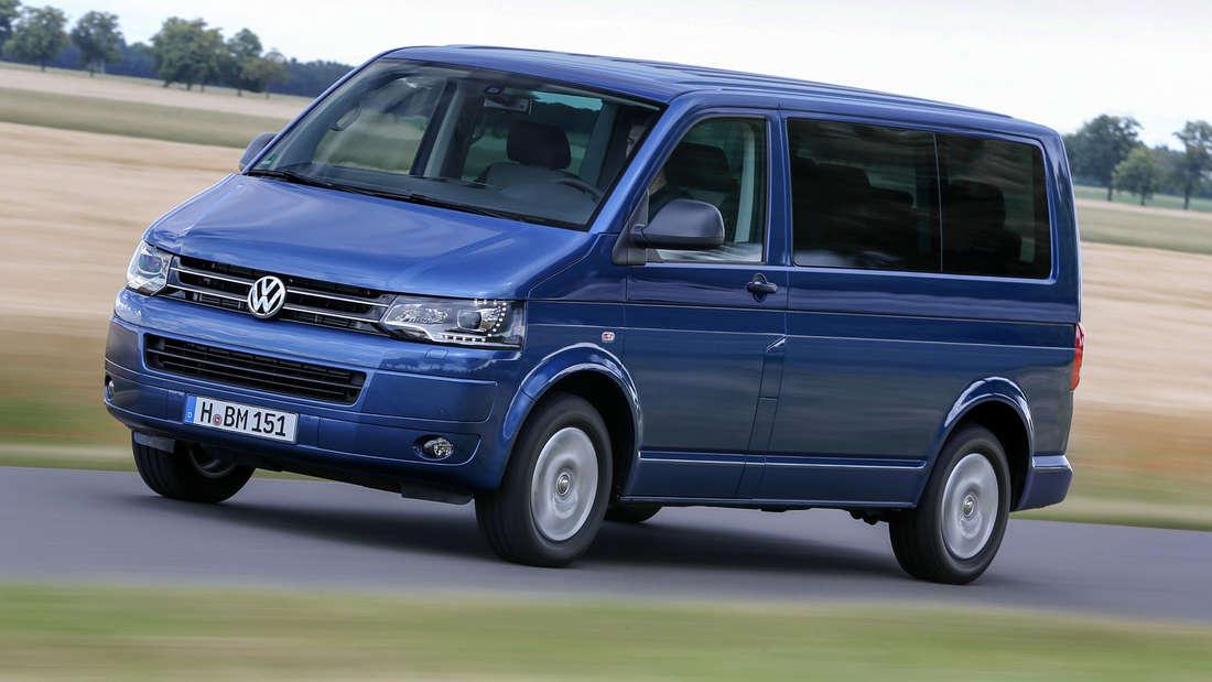 Auf Platz 10 der meistgeklauten Automodelle: Der VW-Bus T5 mit einem durchschnittlichen Schadenaufwand von 18.500 Euro.