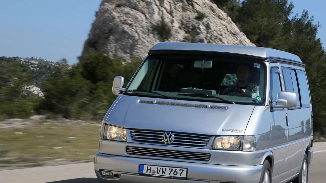 Der T4 von VW war 2013 bei den Autodieben ein wenig beliebter als sein Nachfolger T5.