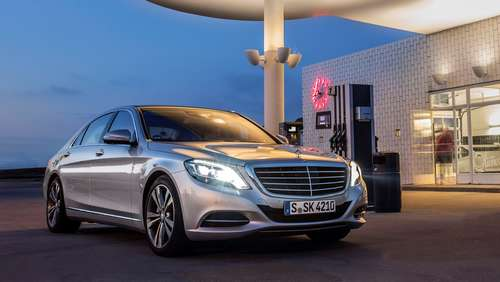 Saubermann: Mercedes S 500 Plug-In-Hybrid