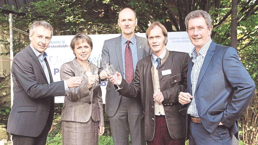 Haus Elisabeth feiert Grundsteinlegung vor 25 Jahren   Fürstenfeldbruck