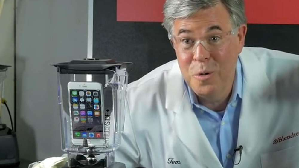 Blendtec iPhone vs. Galaxy Note 3