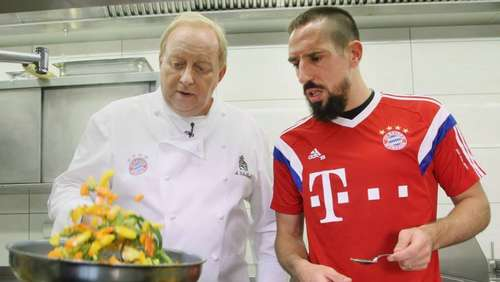 Video: Schuhbeck kocht das perfekte FCB-Dinner