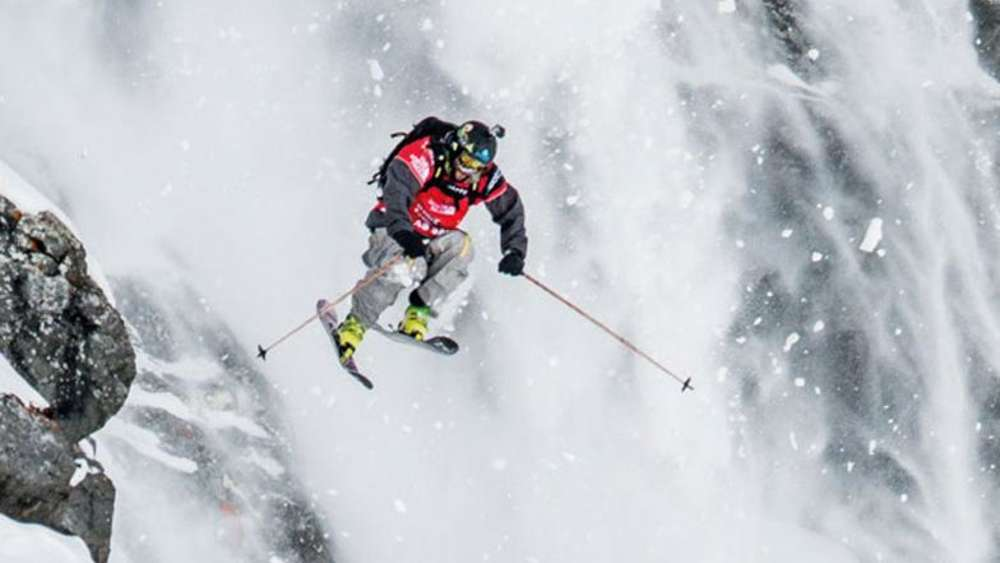 Die Freeride World Tour (FWT) kommt am 31.01.2015 nach Fieberbrunn.