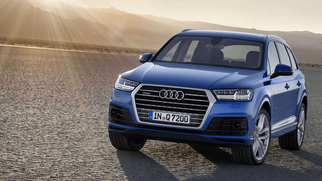 Fotos und Details vom neuen Audi Q7.