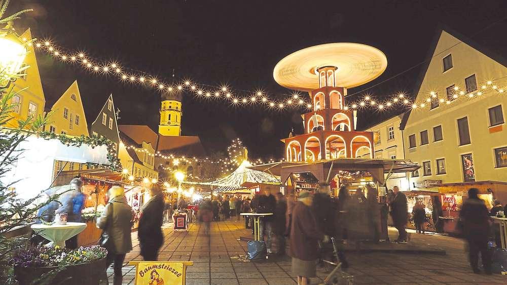 Schongau Weihnachtsmarkt.Beim Schongauer Weihnachtsmarkt Hat Alles Gepasst Schongau