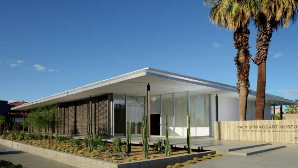 Ein Platz für modernes Design: Das neue Architecture and Design Center in der Wüstenstadt Palm Springs. Foto: Palm Springs Art Museum