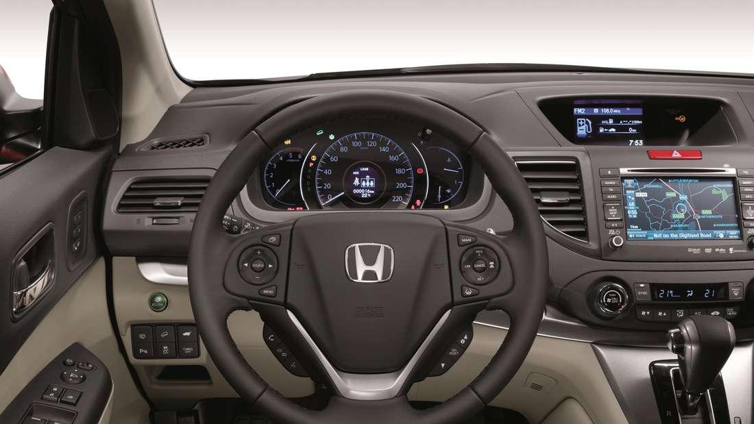 Komfortabler Allrounder: der Honda CR-V.