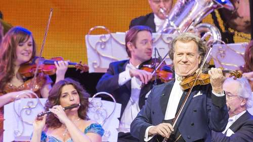 André Rieu in der Olympiahalle: Ein Vollblut-Entertainer