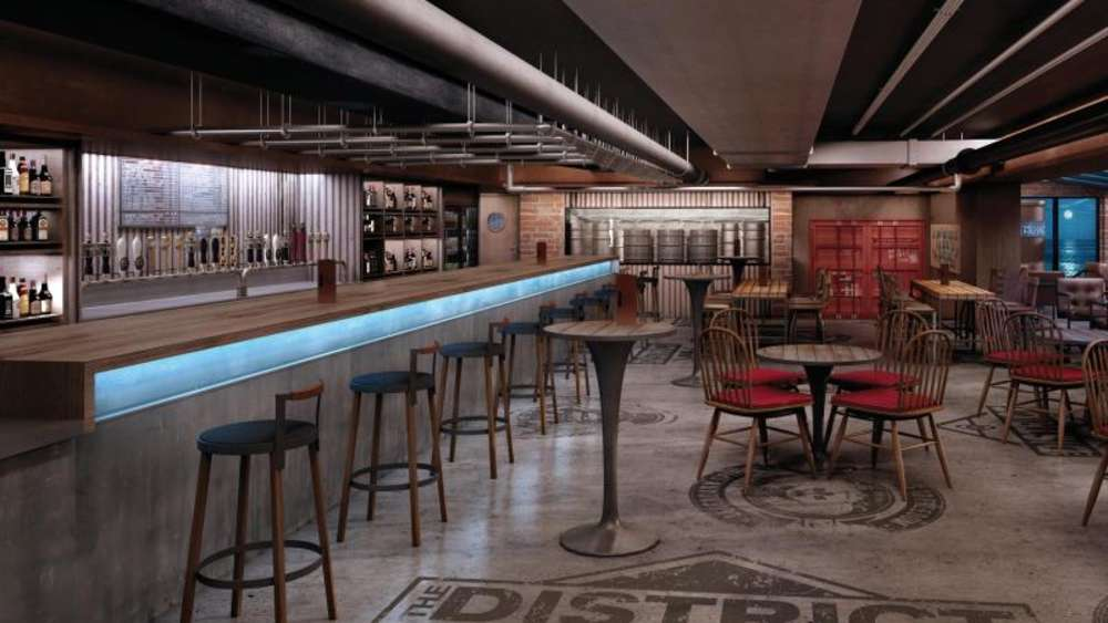 "Für das ""The District Brew House"" kooperiert Norwegian Cruise Line mit einer Brauerei aus Miami. Foto: Norwegian Cruise Line"