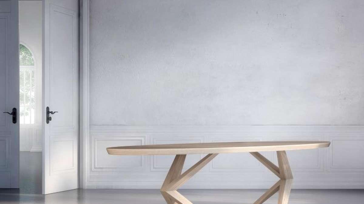 schr ge beine neue ideen f r den esstisch wohnen. Black Bedroom Furniture Sets. Home Design Ideas