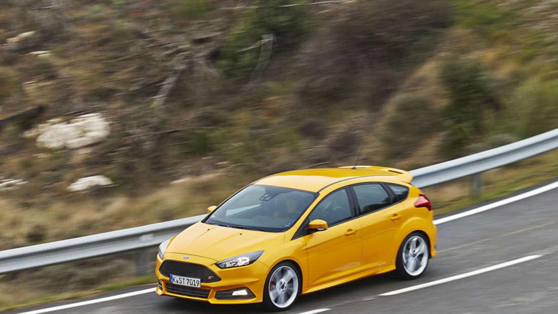 Ford Focus ST: Kompakter Sportler kommt als Diesel und Benziner