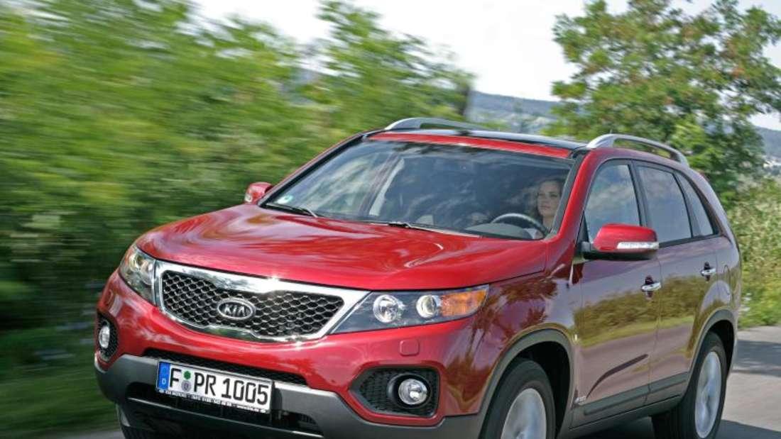 Gereift:Die zweite Generation des Kia Sorento (im Bild) ist laut Expertenurteil zuverlässiger als die Erstauflage des SUVs. Foto: Kia