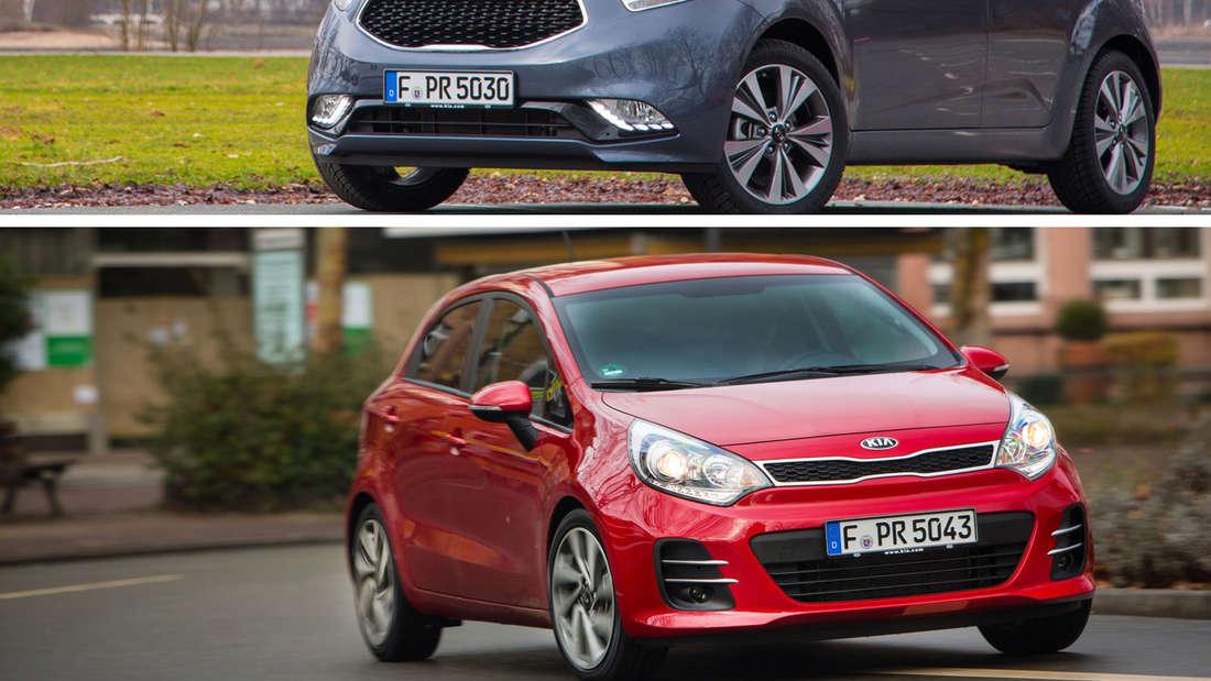 Kia Rio und Kia Venga starten im Februar mit umfassendem Facelift.