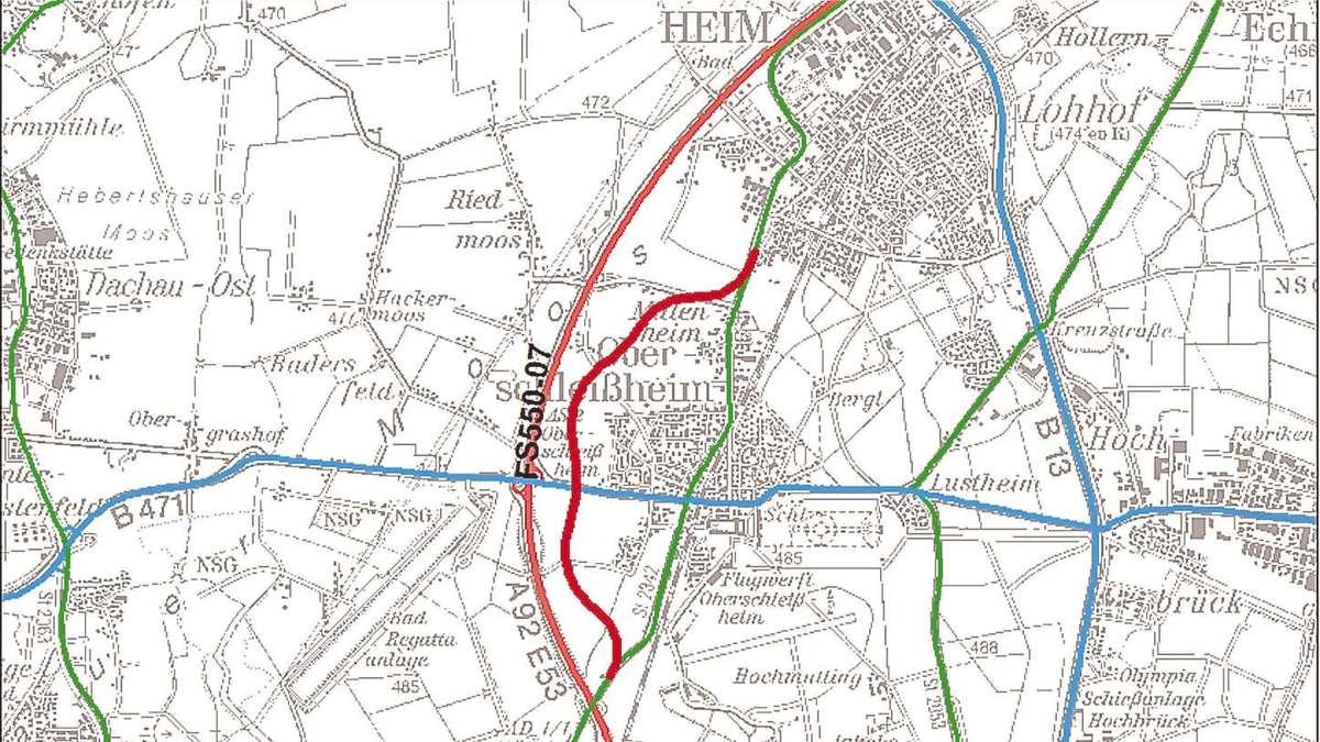 Westumgehung für Schleißheim: Angst vor der Monsterbrücke ...