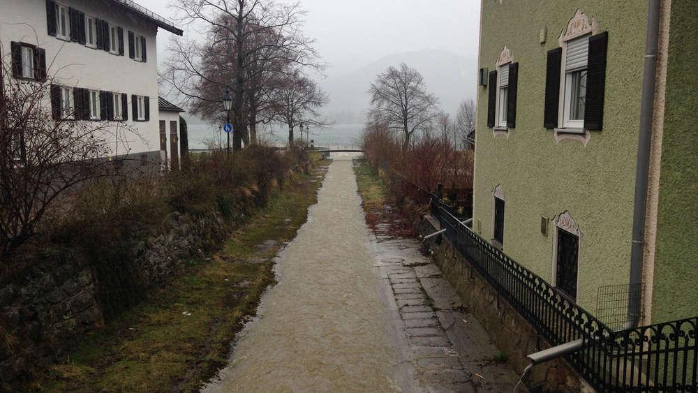 Wetter Am Tegernsee Droht Ein Hochwasser Zu Ostern Tegernseer Tal
