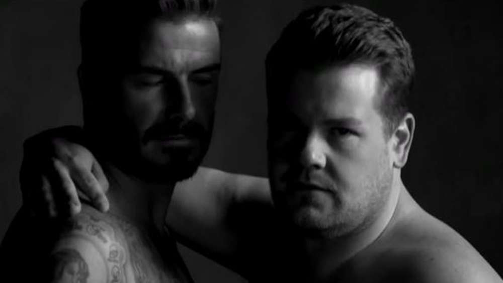 David Beckham und James Corden