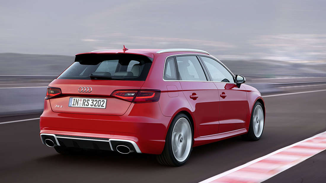 Kleiner Kraftprotz! Der neue Audi RS 3 Sportback.