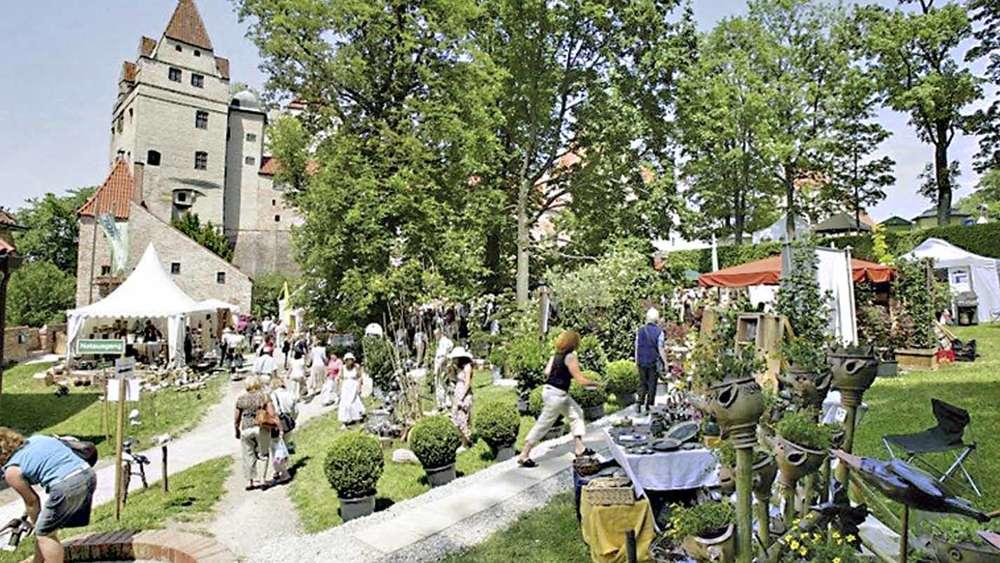 Gartenfestival auf der Burg Trausnitz | Erding