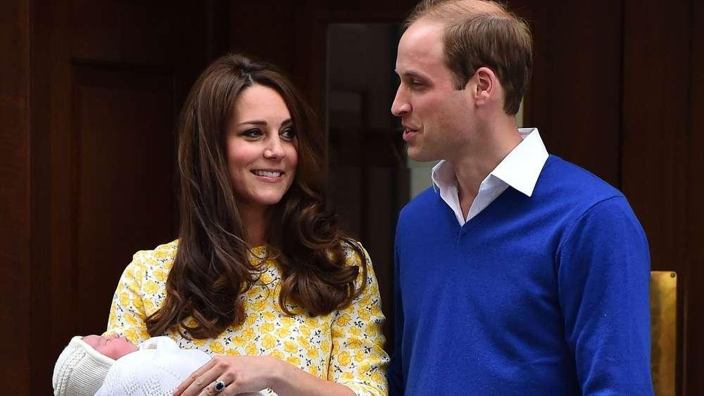 Royal Baby Ii Kate Und Prinz William Präsentieren Nachwuchs Der