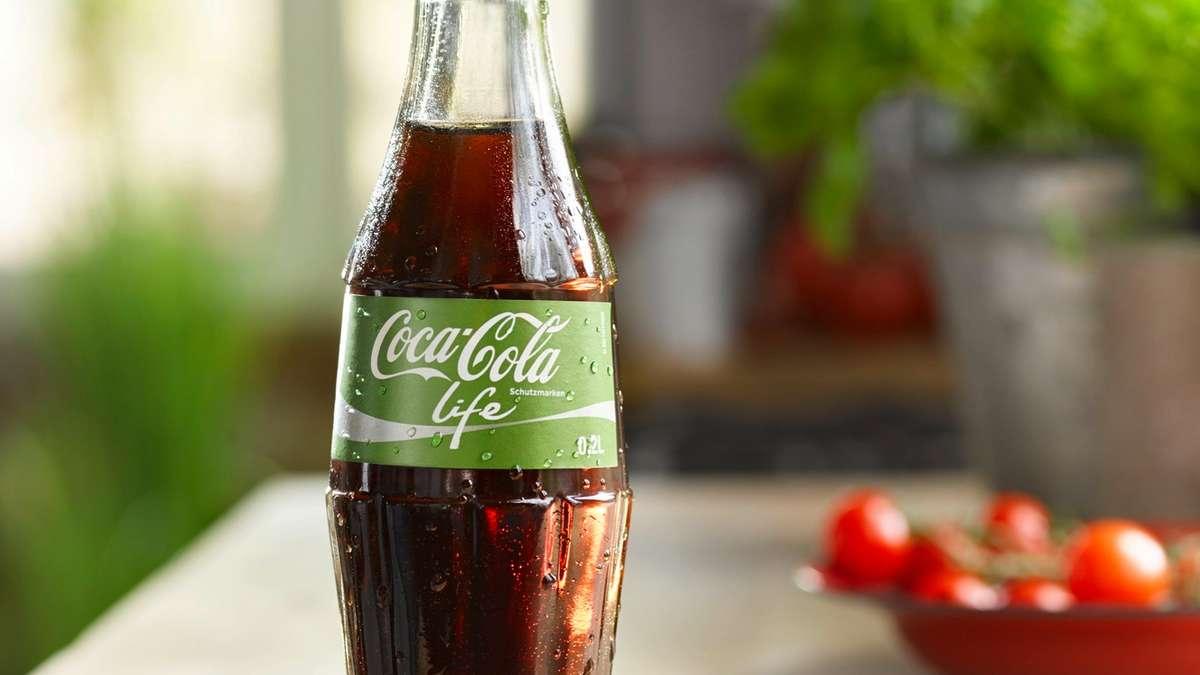 Softdrinks mit Stevia wie Coca Cola Life enthalten immer noch viel ...
