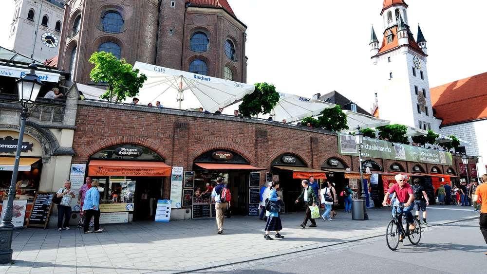 700 Jahre Weiss Blaues Wurstlparadies Am Viktualienmarkt