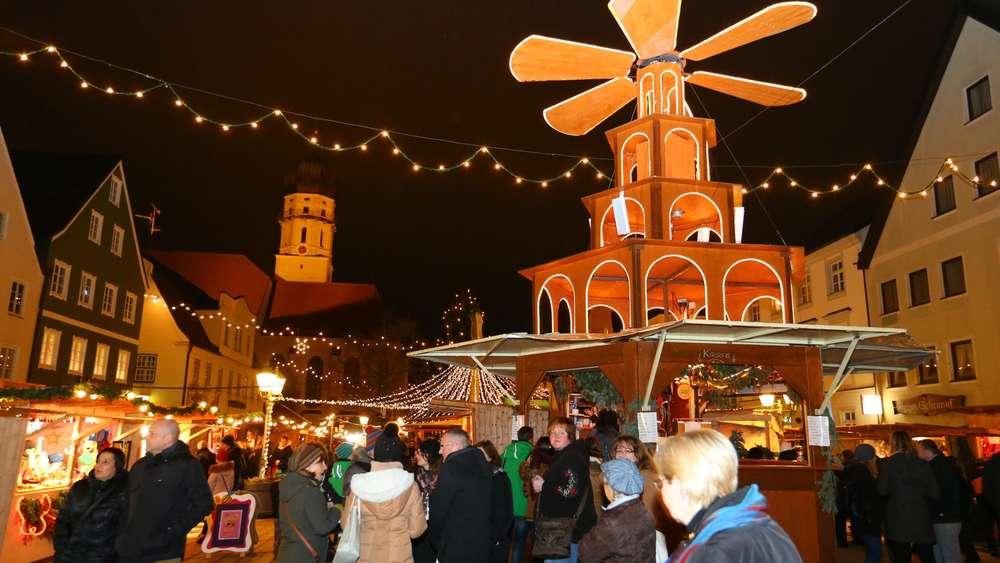 Schongau Weihnachtsmarkt.Schongauer Weihnachtsmarkt Künftig Eine Woche Länger Schongau