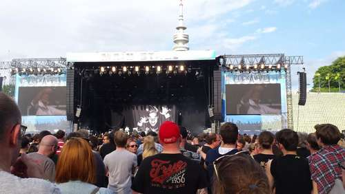 Rockavaria 2015: So war Tag eins