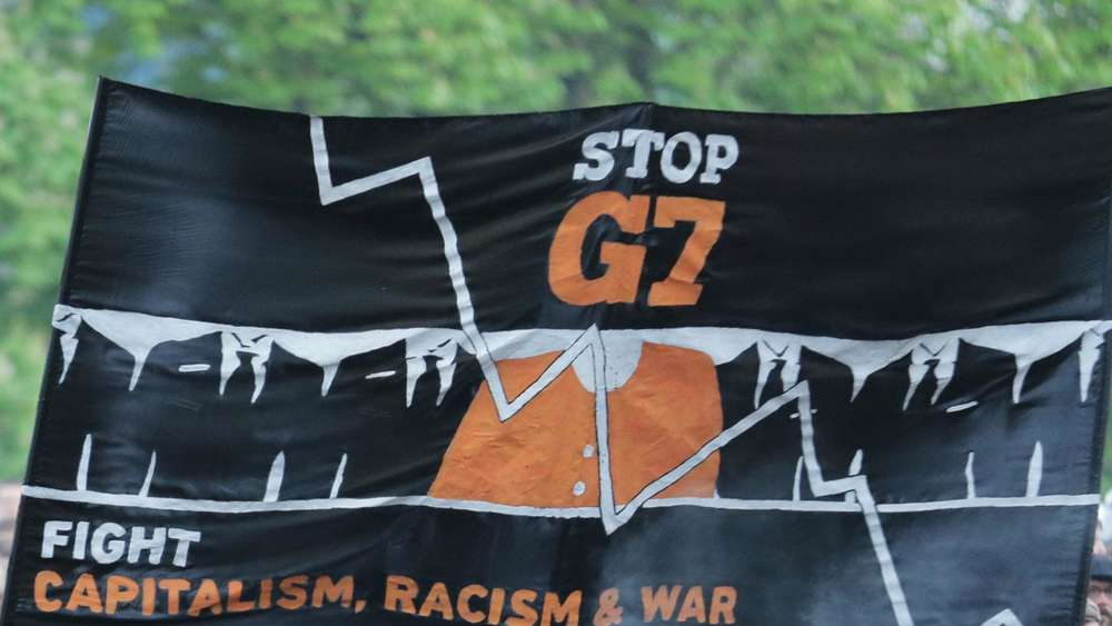 G7 Gipfel 2015 Demonstration