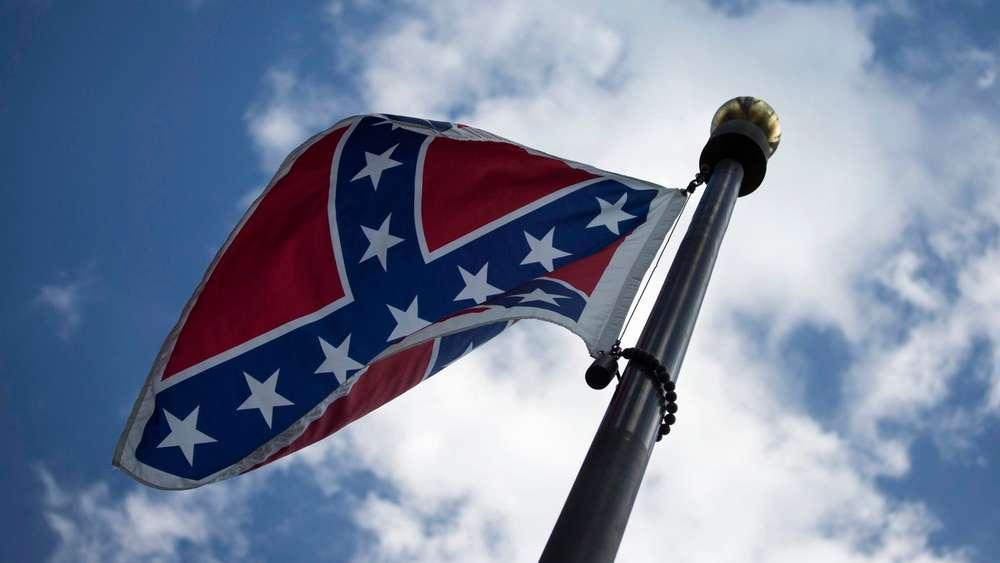 Konföderierten Flagge