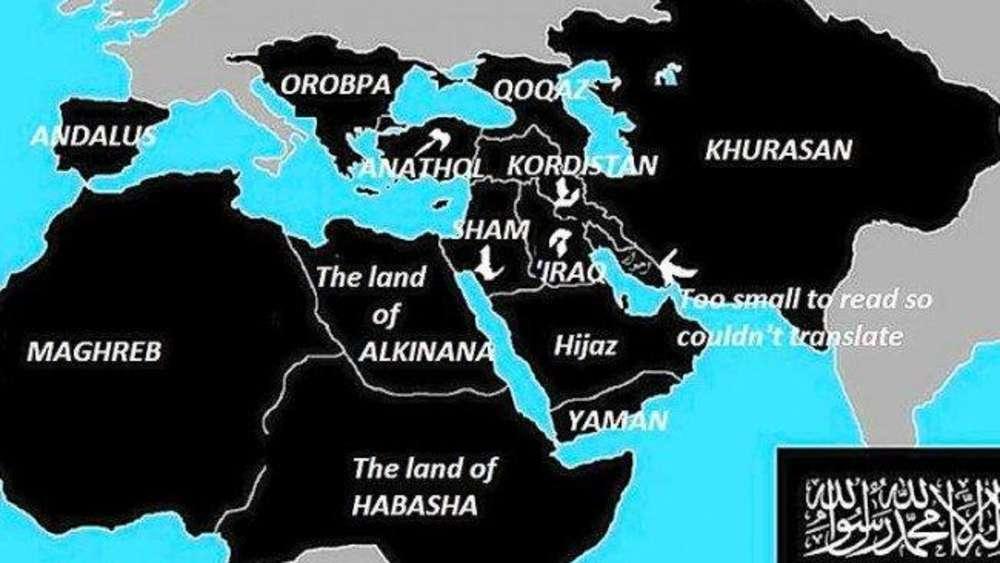 islamischer staat karte 2020 IS will 2020 vor Bayern stehen: User warnen vor Verharmlosung