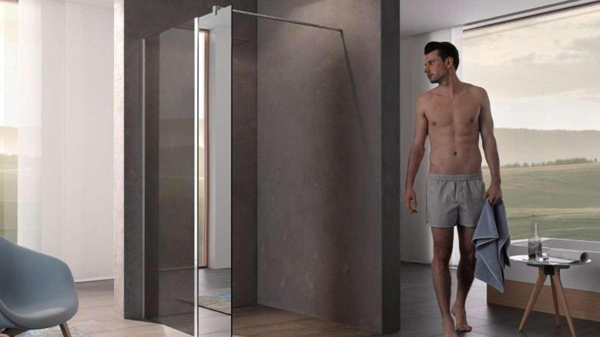 Dusche Ohne Tur Verbleibende Wand Muss Lang Genug Sein Wohnen